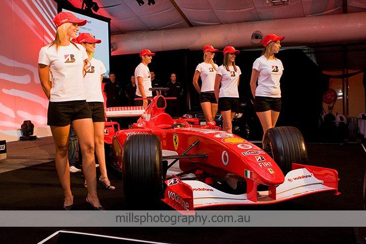 Ferrari F1 Event Photography