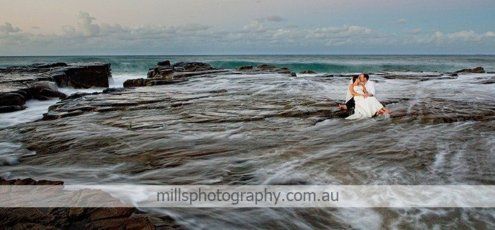 Sunshine Coast Trash the Dress Photography