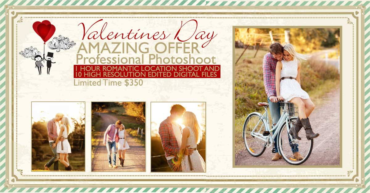 Valentines Day Photoshoot