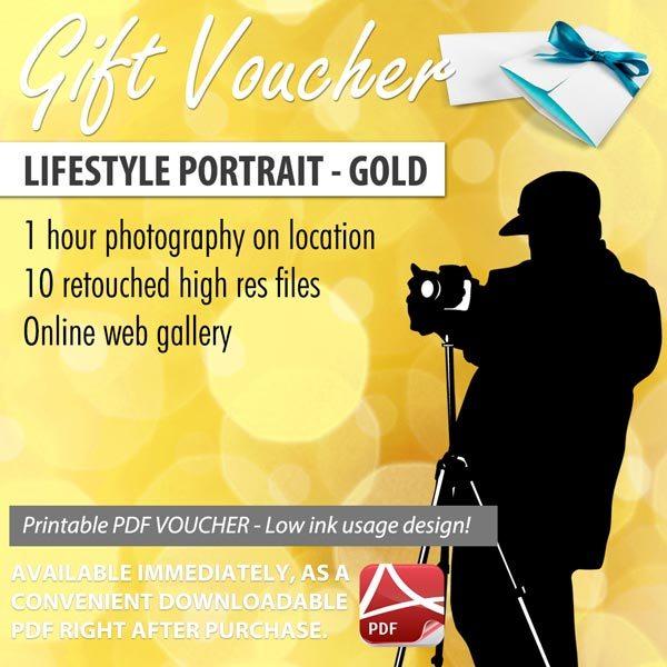 Portrait Gift Voucher Sunshine Coast